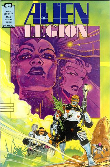 Alien Legion (1987) 9-A by Epic