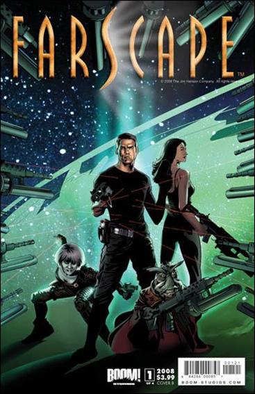 Farscape (2008) 1-B by Boom! Studios