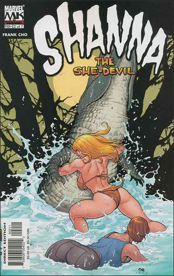 Shanna the She-Devil (2005) 2-A by Marvel