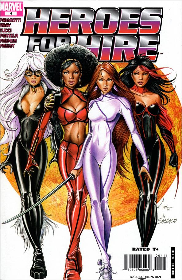 Heroes for Hire (2006) 4-A by Marvel
