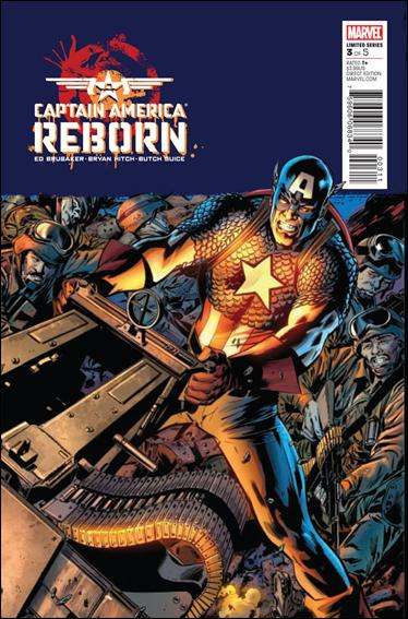 Captain America: Reborn 3-A by Marvel