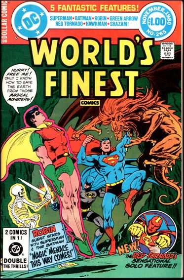 World's Finest Comics 265-A by DC