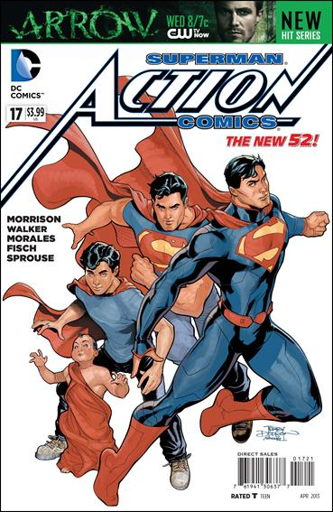 Action Comics (2011) 17-D by DC