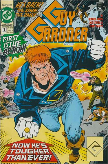 Guy Gardner 1-A by DC
