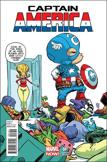 Captain America (2013) 1-F by Marvel
