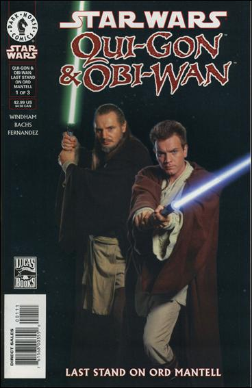 Star Wars: Qui-Gon & Obi-Wan - Last Stand on Ord Mantell 1-C by Dark Horse