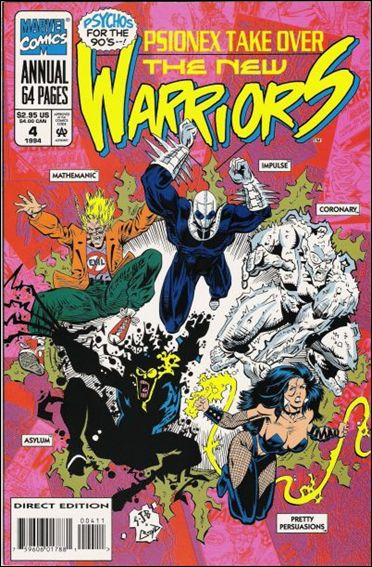 New Warriors Annual 4-A by Marvel