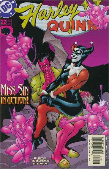 Harley Quinn (2000) 22-A by DC