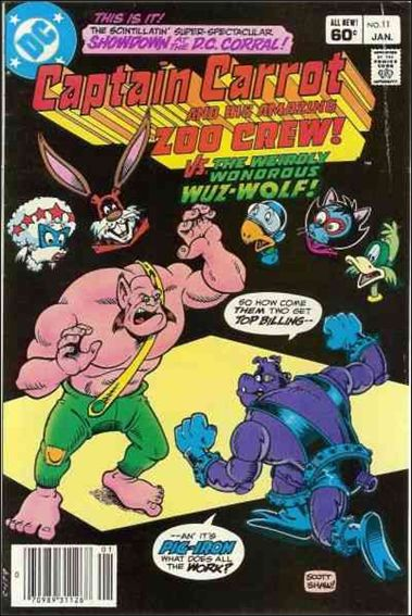 Captain Carrot and His Amazing Zoo Crew 11-A by DC