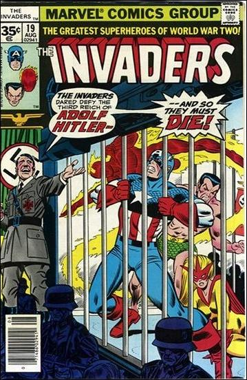 Invaders (1975) 19-B by Marvel