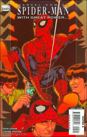 Spider-Man: With Great Power... 5-A by Marvel