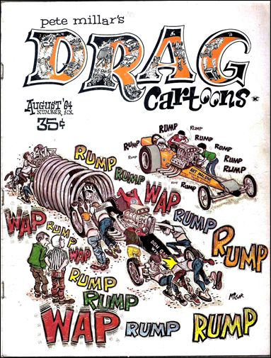 Drag Cartoons (1963) 6-A by Millar