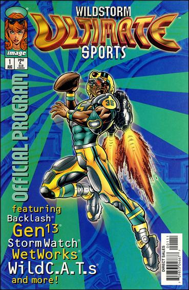 WildStorm Ultimate Sports Official Program 1-A by Image
