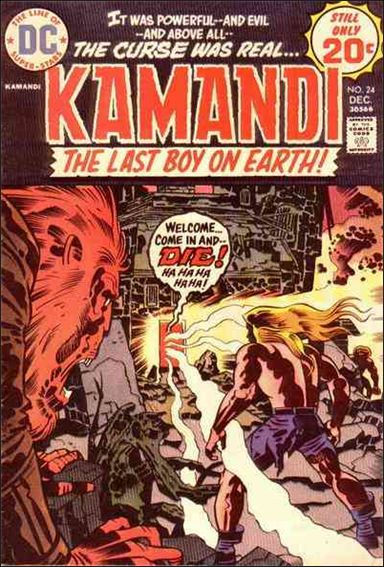 Kamandi, the Last Boy on Earth 24-A by DC