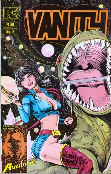 Vanity 2-A by Pacific Comics