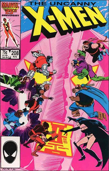 Uncanny X-Men (1981) 208-A by Marvel