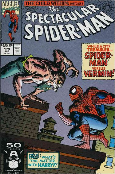 Spectacular Spider-Man (1976) 179-A by Marvel