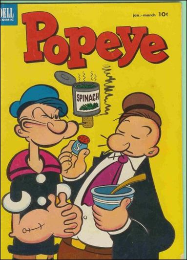 Popeye (1948) 23-A by Dell