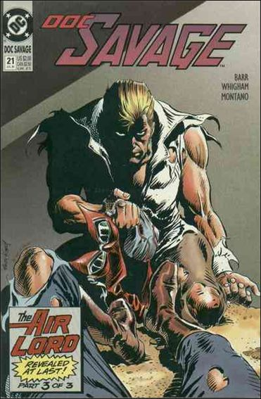 Doc Savage (1988) 21-A by DC