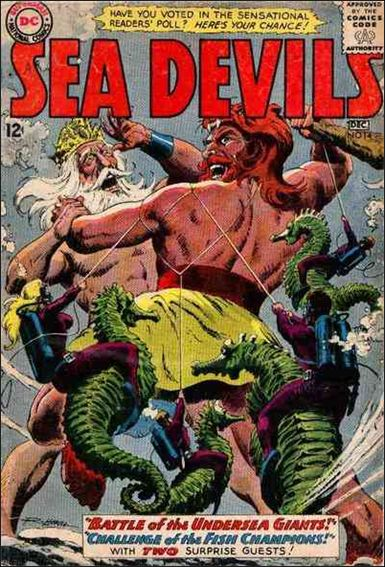 Sea Devils 14-A by DC