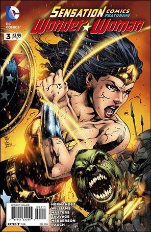 Sensation Comics Featuring Wonder Woman 3-A