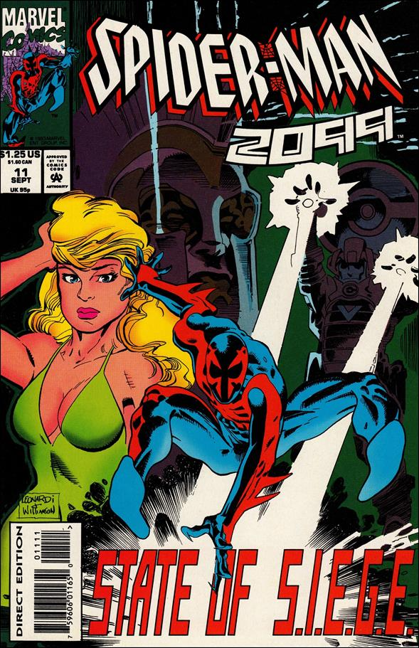 Spider-Man 2099 (1992) 11-A by Marvel