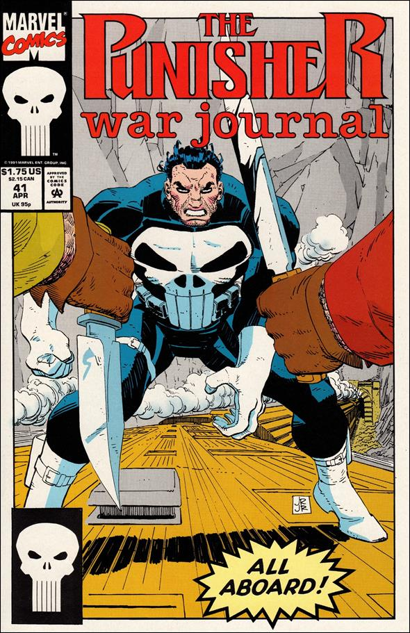 Punisher War Journal (1988) 41-A by Marvel