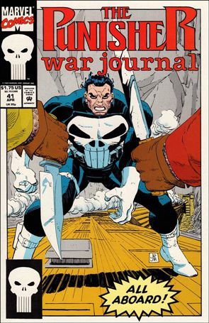 Punisher War Journal (1988) 41-A