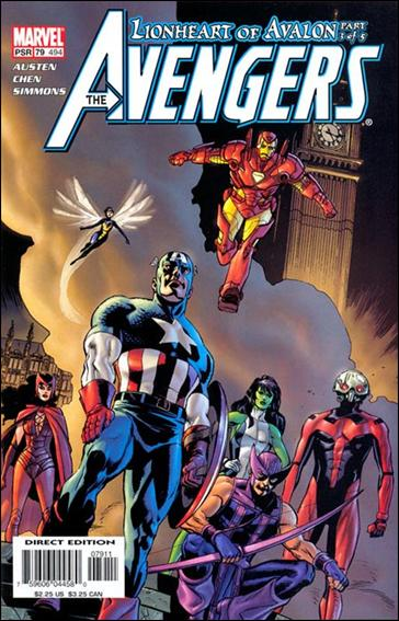 Avengers (1998) 79-A by Marvel