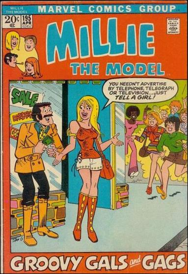 Millie the Model Comics 195-A by Marvel