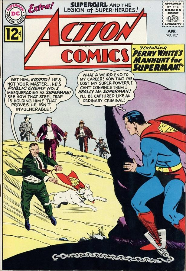 Action Comics (1938) 287-A by DC