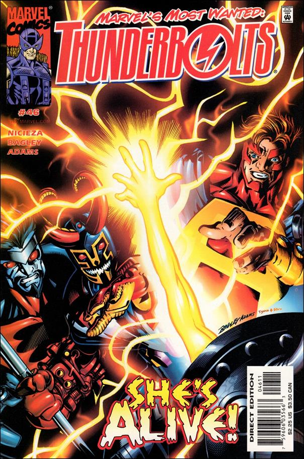 Thunderbolts (1997) 46-A by Marvel