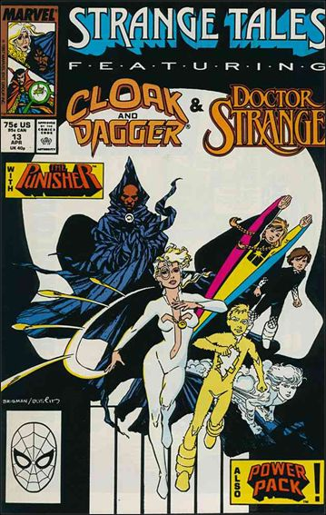Strange Tales (1987) 13-A by Marvel