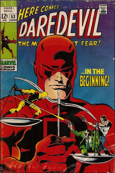 Daredevil (1964) 53-A by Marvel