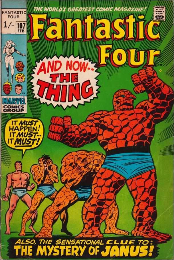 Fantastic Four (1961) 107-B by Marvel