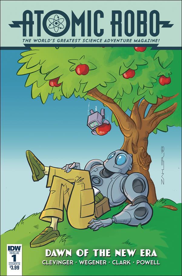 Atomic Robo: Dawn of a New Era 1-B by IDW