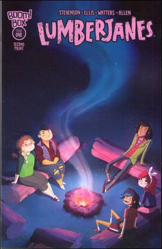 Lumberjanes 1-E by Boom! Box