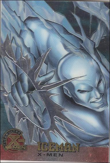 1995 Fleer Ultra X-Men All Chromium (Base Set) 7-A by Fleer