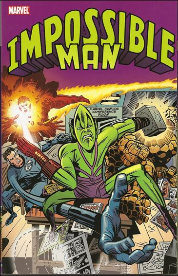 Impossible Man 1-A by Marvel
