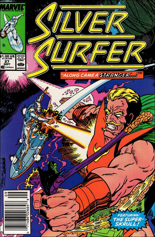 Silver Surfer (1987) 27-A by Marvel