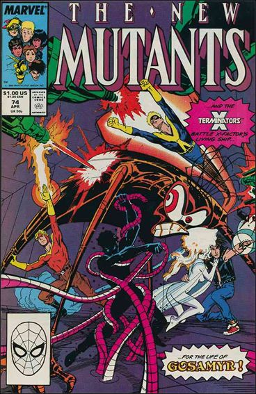 New Mutants (1983) 74-A by Marvel