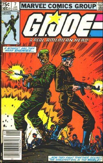 G.I. Joe: A Real American Hero 7-B by IDW