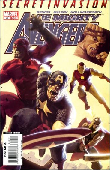 Mighty Avengers 12-A by Marvel