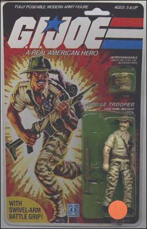 "G.I. Joe: A Real American Hero 3 3/4"" Basic Action Figures Recondo (Jungle Trooper) by Hasbro"