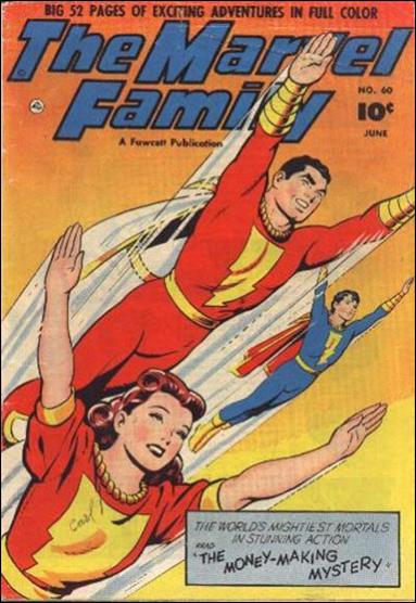 Marvel Family 60-A by Fawcett