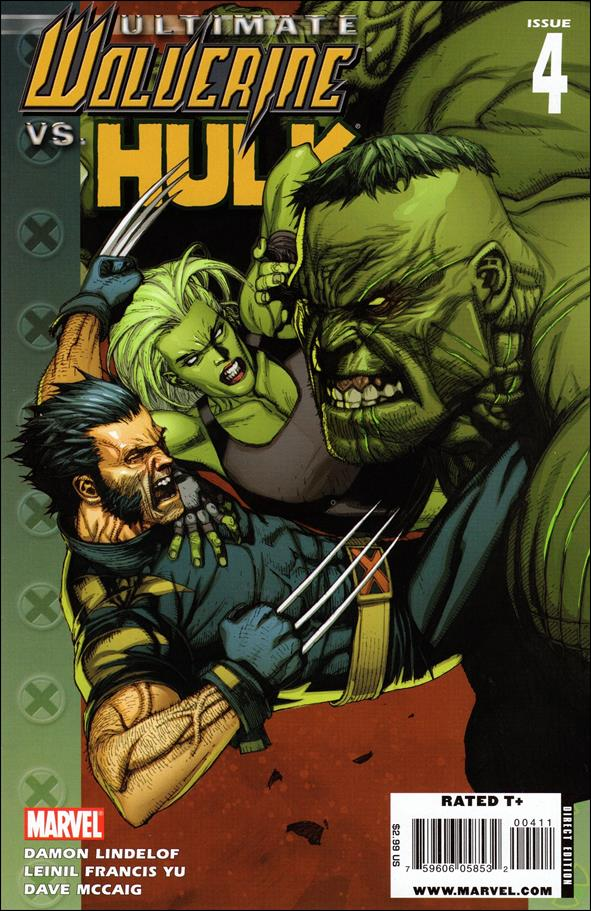 Ultimate Wolverine vs Hulk 4-A by Marvel