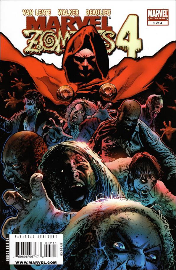 Marvel Zombies 4 2-A by Marvel