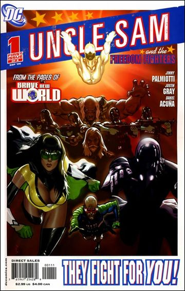 Uncle Sam and the Freedom Fighters (2006) 1-A by DC