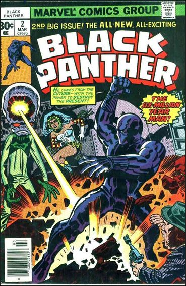 Black Panther (1977) 2-A by Marvel