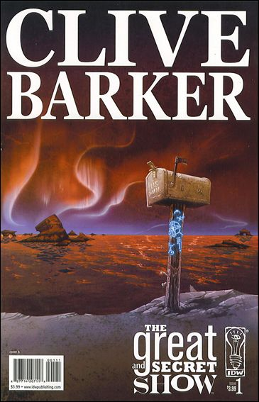 Clive Barker's The Great and Secret Show 1-B by IDW